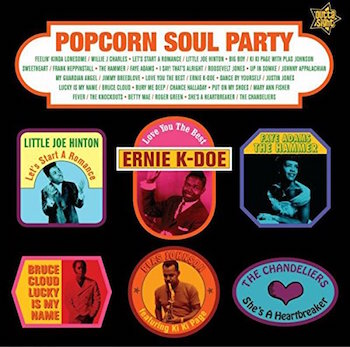 V.A. - Popcorn Soul Party : Blended Soul & R&B 1958-62